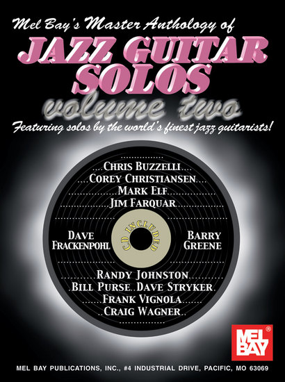 photo of Master Anthology of Jazz Guitar Solos, Vol. 2