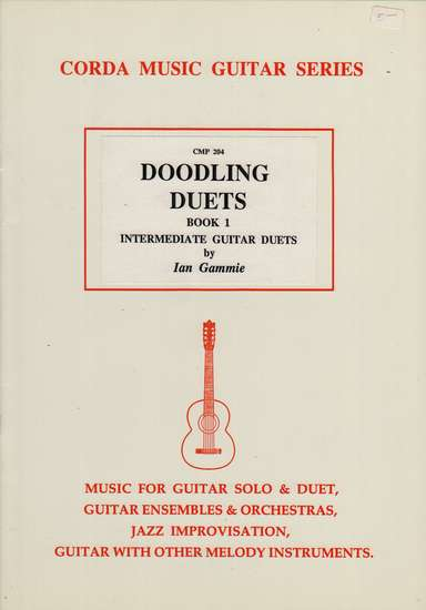 photo of Doodling Duets, Book 1, Intermediate Guitar Duets