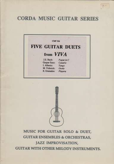photo of Five Guitar Duets from Viva