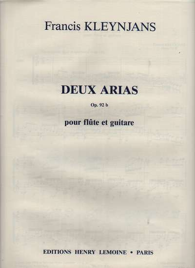 photo of Deux Arias