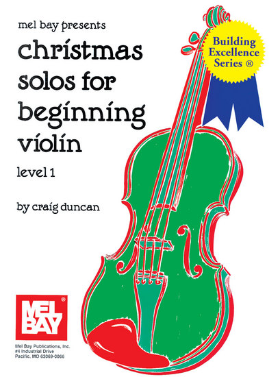 photo of Christmas Solos for Beginning Violin, Level 1