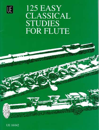 photo of 125 Easy Classical Studies for Flute