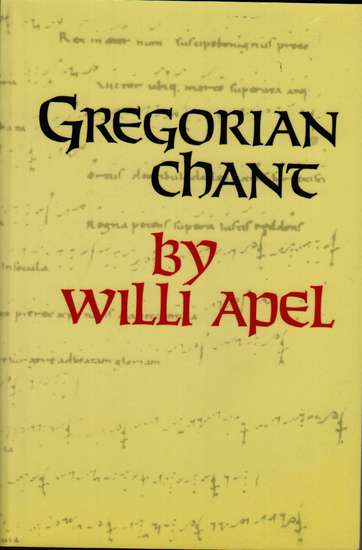 photo of Gregorian Chant, paper cover