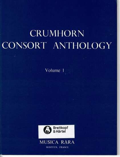 photo of Crumhorn Consort Anthology, Vol. I