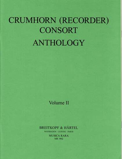 photo of Crumhorn Consort Anthology, Vol. II
