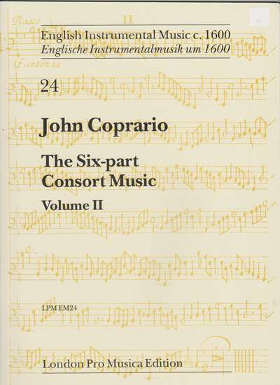 photo of The Six Part Consort Music, Vol. II