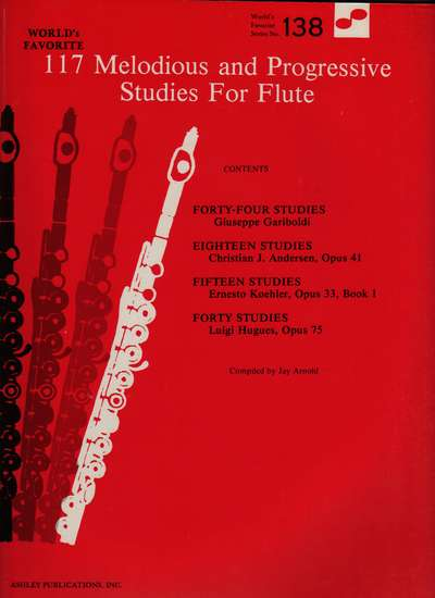 photo of 117 Melodious and Progressive Studies for Flute