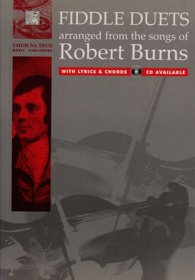 photo of Fiddle Duets arranged from the songs of Robert Burns
