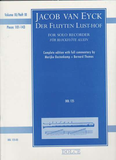 photo of Der Fluyten Lust-Hof, Vol. III