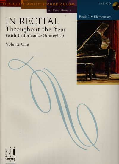 photo of In Recital Through the Year, Vol. I, Book 2