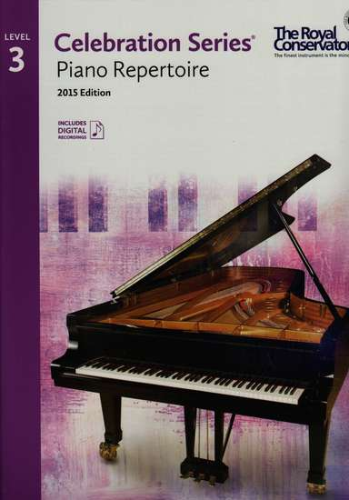 photo of Celebration Series, Piano Repertoire Book 3, 2015 Edition