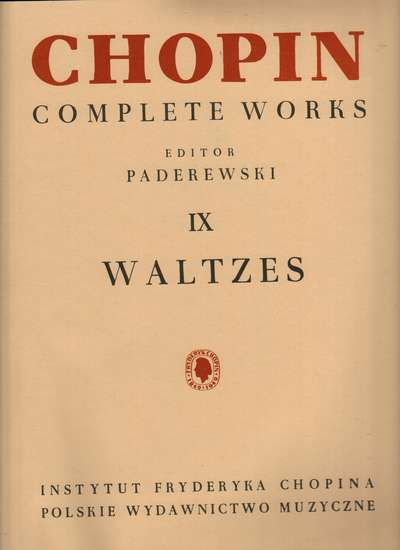 photo of Chopin Complete Works IX, Waltzes