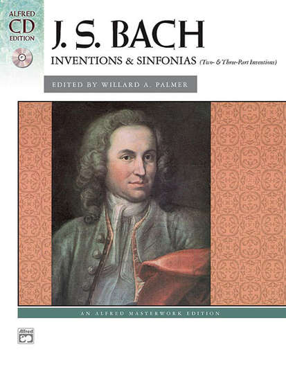 photo of Inventions & Sinfonias (Two & Three-Part Inventions)