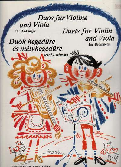 photo of Duets for Violin and Viola