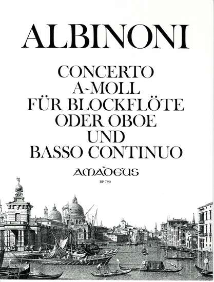photo of Concerto a-moll per Flauto e Basso