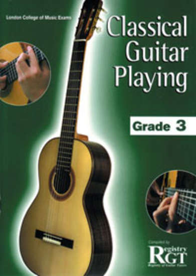 photo of RGT: Classical Guitar Playing, Grade 3