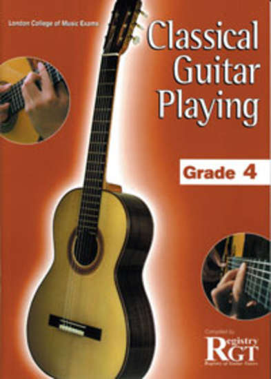 photo of RGT: Classical Guitar Playing, Grade 4