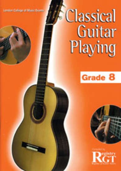 photo of RGT: Classical Guitar Playing, Grade 8