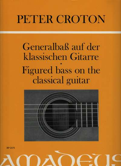 photo of Figured bass on the Classical Guitar