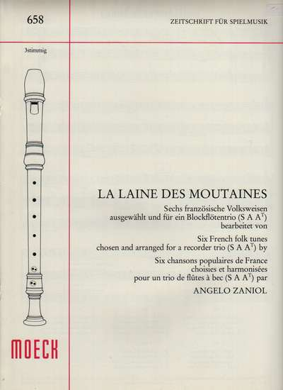 photo of La Laine des Moutaines, Six French Folksongs