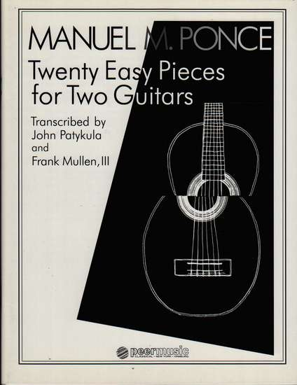 photo of Twenty Easy Pieces for Two Guitars