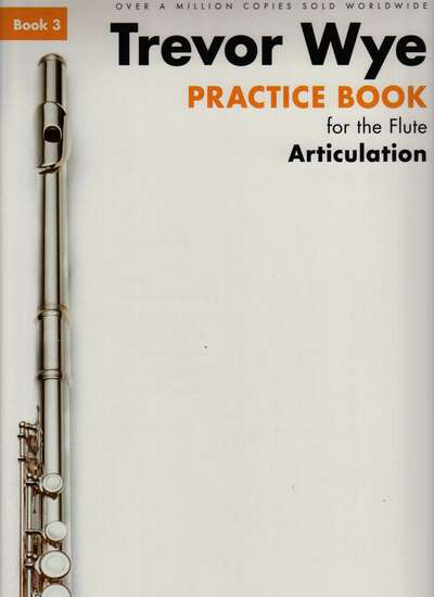 photo of Practice Book for the Flute, Book 3 Articulation