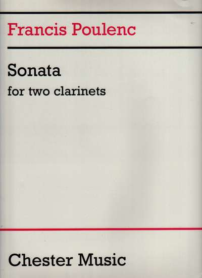 photo of Sonata for Two Clarinets (B flat and A)