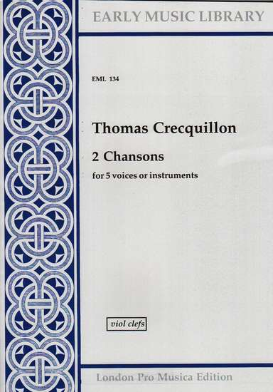 photo of 2 Chansons, Version for Viols