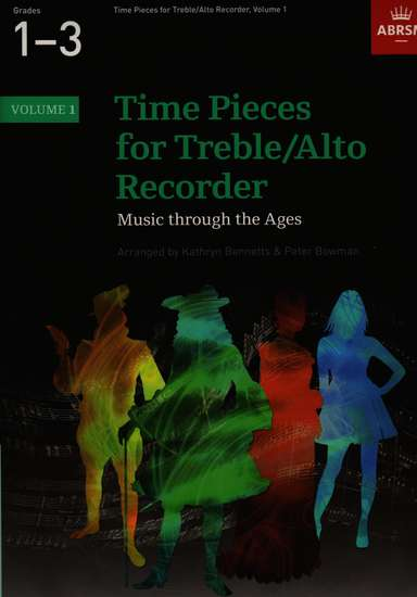 photo of Time Pieces for Treble/ Alto Recorder, Volume 1