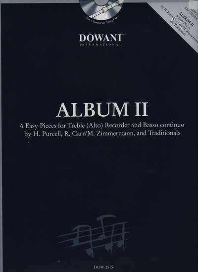 photo of Dowani Album (Easy) Vol. II, 3 Tempi CD and score, 6 Pieces for Alto