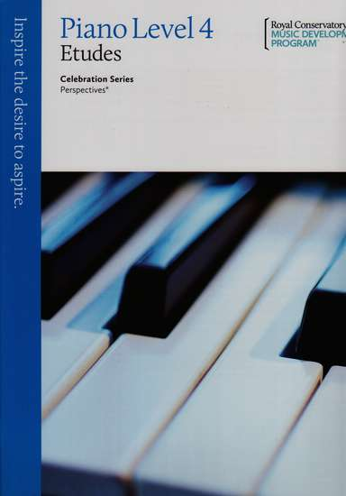 photo of Celebration Series, Perspectives, Piano Studies/Etudes Book 4
