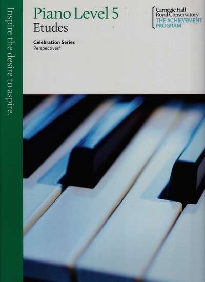 photo of Celebration Series, Perspectives, Piano Studies/Etudes Book 5