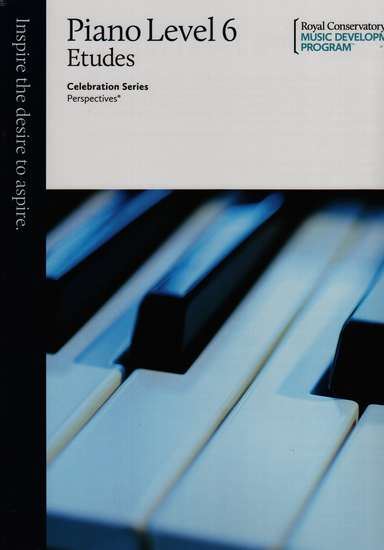 photo of Celebration Series, Perspectives, Piano Studies/Etudes Book 6