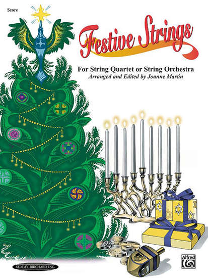 photo of Festive Strings Score for String Quartet or String Orchestra
