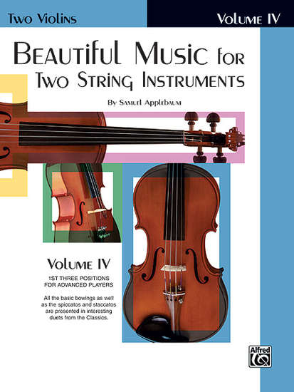 photo of Beautiful Music for Two String Instruments, Vol. IV Violins