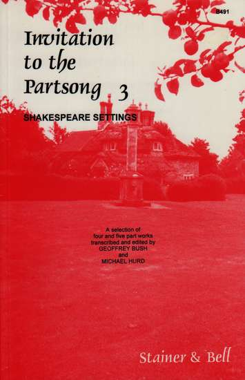 photo of Invitation to the Partsong 3, Shakespeare Settings