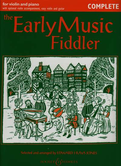 photo of The Early Music Fiddler, Complete, with accompaniment