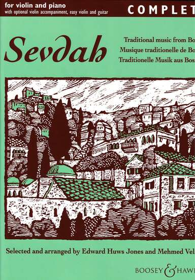 photo of Sevdah, Traditional music from Bosnia, for violin and piano, Complete