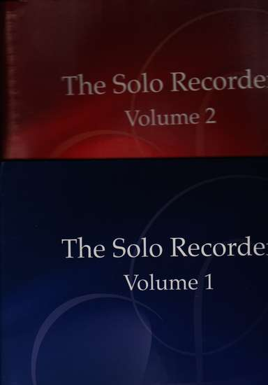 photo of The Solo Recorder, Vol. 1 (from flute) and 2 (from strings), set