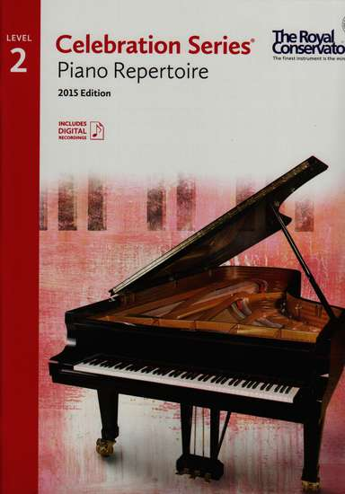 photo of Celebration Series, Repertoire Book, Level 2, 2015 Edition