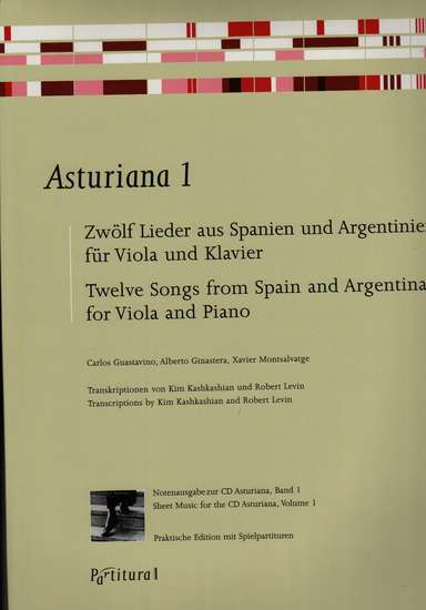 photo of Asturiana 1, Twelve Songs from Spain and Argentina