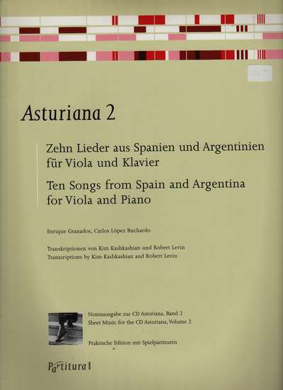 photo of Asturiana 2, Ten Songs from Spain and Argentina