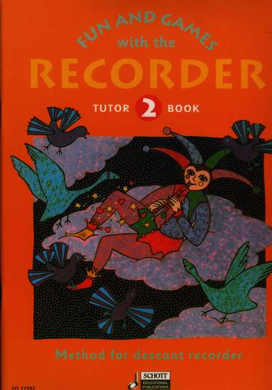 photo of Fun and Games with the Recorder, Tutor Book 2, for Soprano