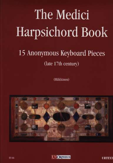 photo of The Medici Harpsichord Book, 15 Anonymous Keyboard Pieces late 17th century