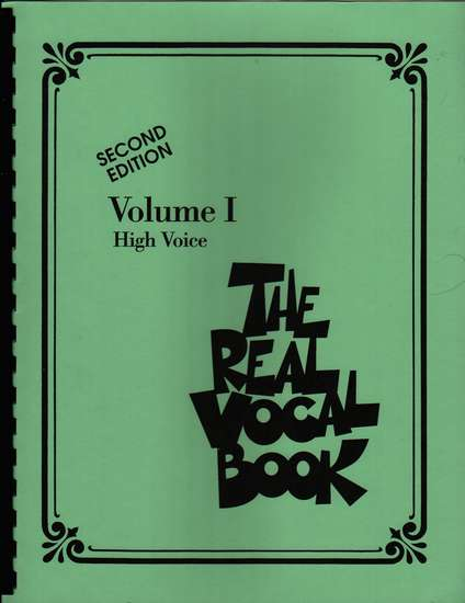 photo of The Real Vocal Book, Volume I, High Voice, Second Edition