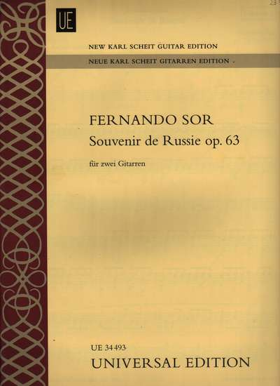 photo of Souvenir de Russie, Op. 63