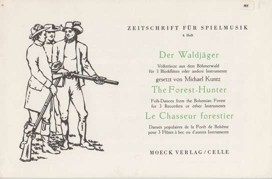 photo of The Forest-Hunter, folk dances from the Bohemian Forest