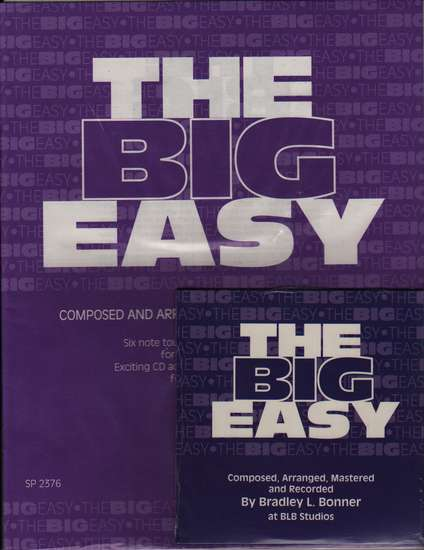 photo of The Big Easy, Six note tour of the soprano recorder, score,  CD