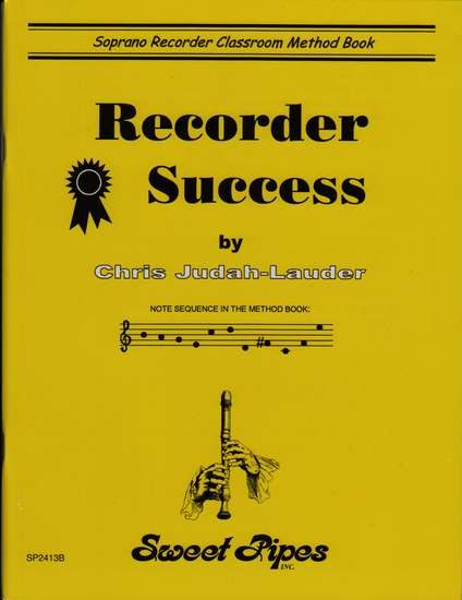 photo of Recorder Success, Soprano recorder classroom Method Book