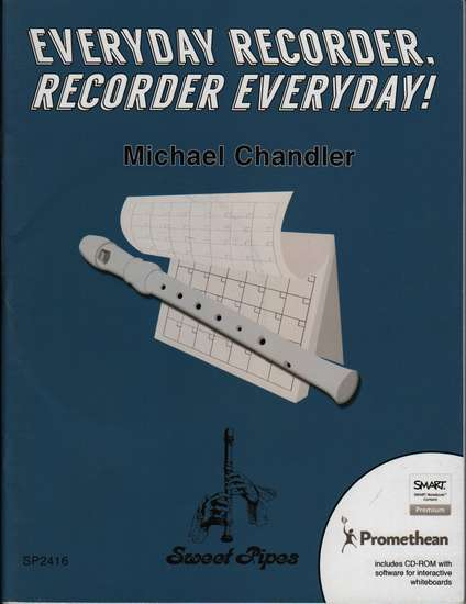 photo of Everyday Recorder, Recorder Everyday! CD-ROM software for interactive whiteboard